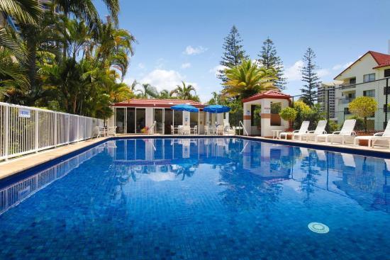 Surf Parade Resort: Pool view