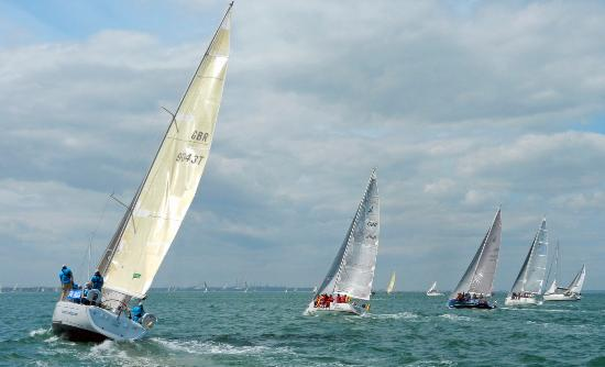 First Class Sailing: Round the Island Race - 27 June 2015