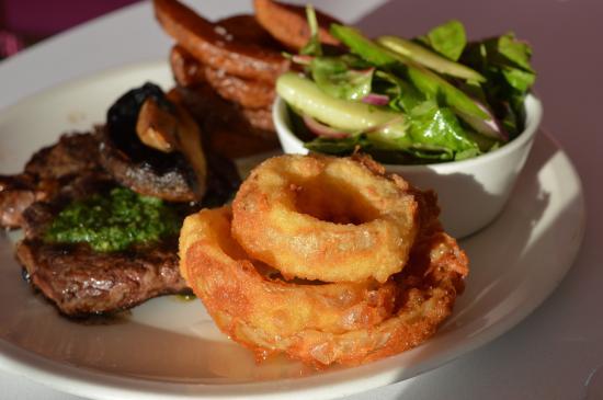 Steak picture of elements cafe bar restaurant bude - Element bar cuisine ...
