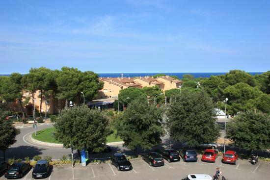Aparthotel Golf Beach - вид из номера