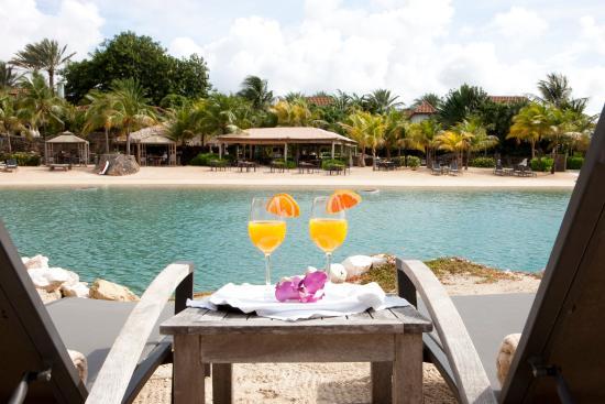 Baoase Luxury Resort: Beach View From Bibi Island