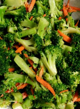 Side dish - Broccoli salad - Picture of Seoul USA Korean Restaurant ...