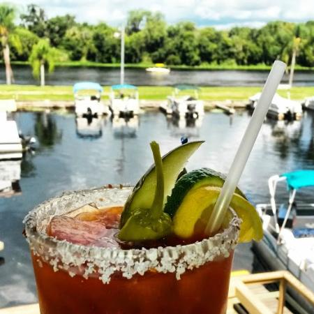 Swamp House Riverfront Grill: Mmmm Loaded Bloody Mary