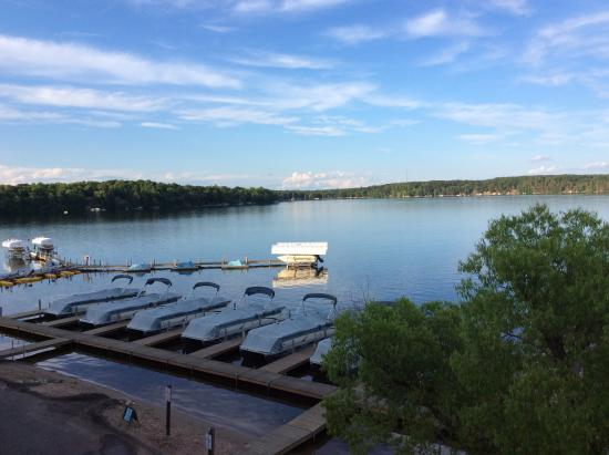 Cragun's Resort on Gull Lake: A peaceful moment.