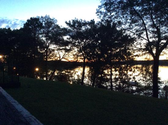 Cragun's Resort on Gull Lake: Sunrise on Gull Lake