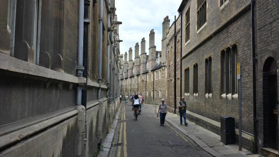 Cambridge Bike Tours: Cambridge street