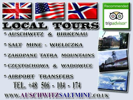 Polturist Michal Krupa - Auschwitz and Salt Mine Tours