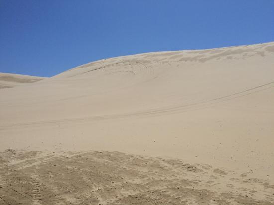Florence, Oregón: Apenas pequenas dunas