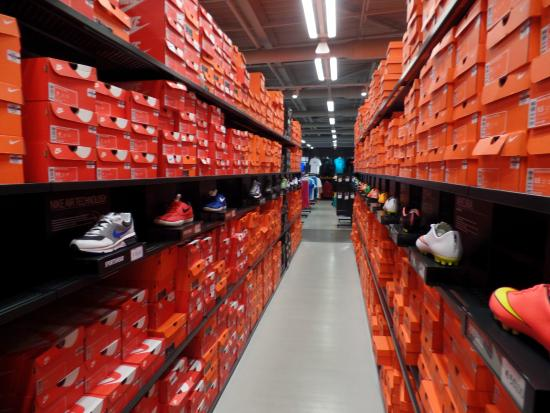 La Jonquera, Spain: Nike outlet