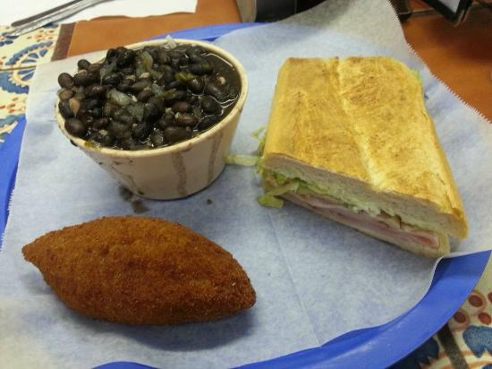 Silver Ring Cafe: Cuban Sandwich, Black Bean Soup, and the Deviled Crab