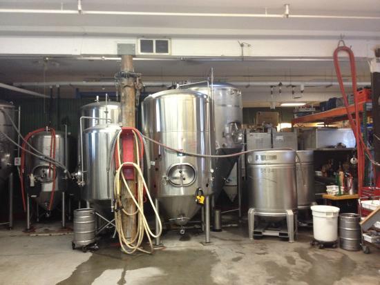Kodiak Island Brewing Company: Tanks
