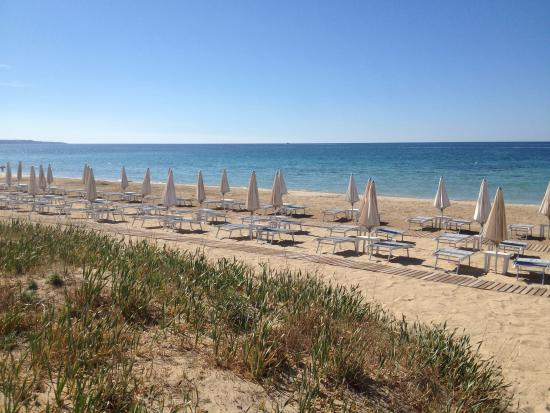 Salve, Italia: Spiaggia