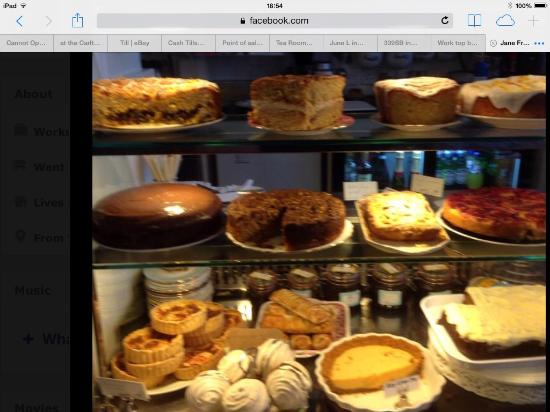 Fredericks Tea Room: Some of our homemade cakes