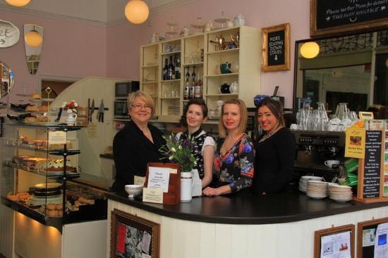 Fredericks Tea Room: Some of the team