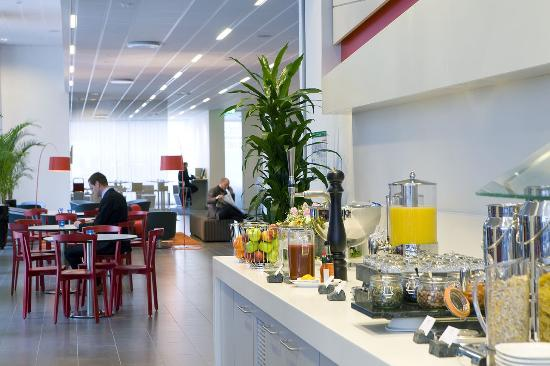 Park Inn by Radisson Malmo: Restaurant
