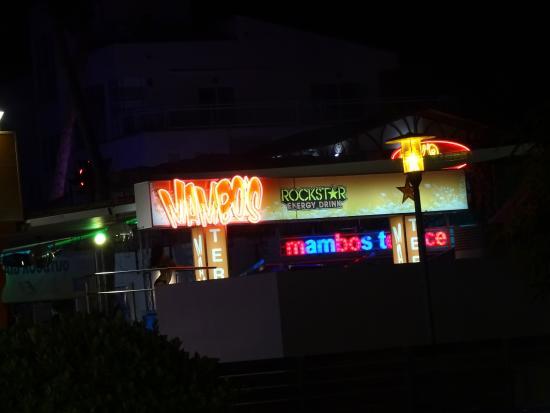 Mambo's Terrace Magaluf
