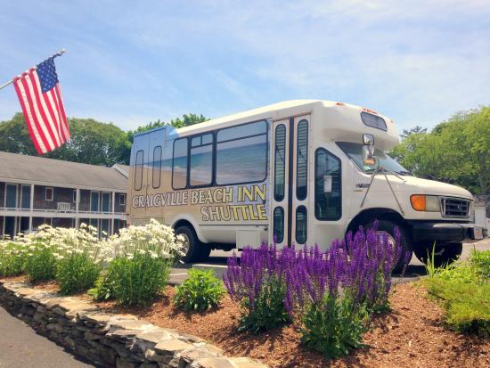 Craigville Beach Inn: Shuttle