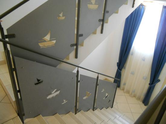 Hotel Alexander Spiaggia: le scale