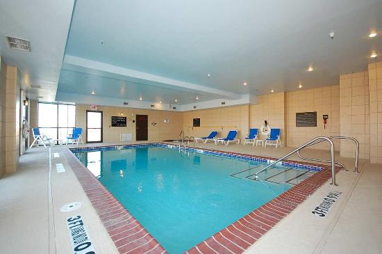 Hampton Inn & Suites Borger : Indoor Pool