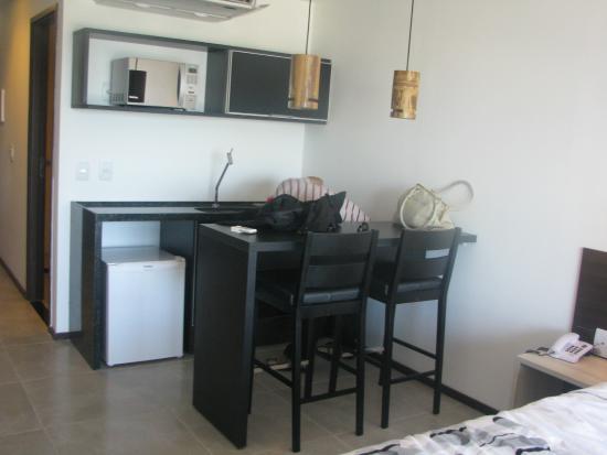 mini cozinha da suite  Foto de Hotel Ritz Suites, Maceió  TripAdvisor # Mini Cozinha Simples