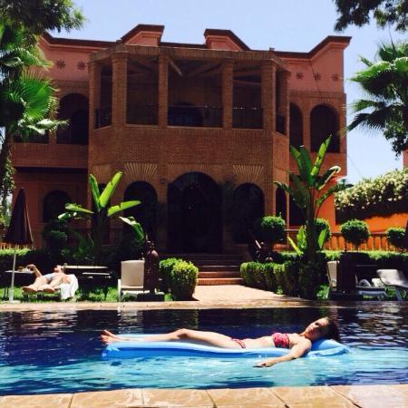 Dar Ouladna: Suite Karim vue sur piscine et jardin