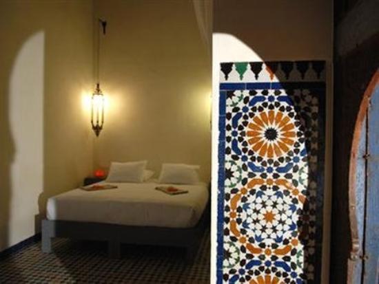 本蘇達摩洛哥傳統庭院住宅照片