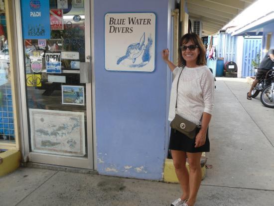 Blue Water Divers: Best dive shop on Tortolla