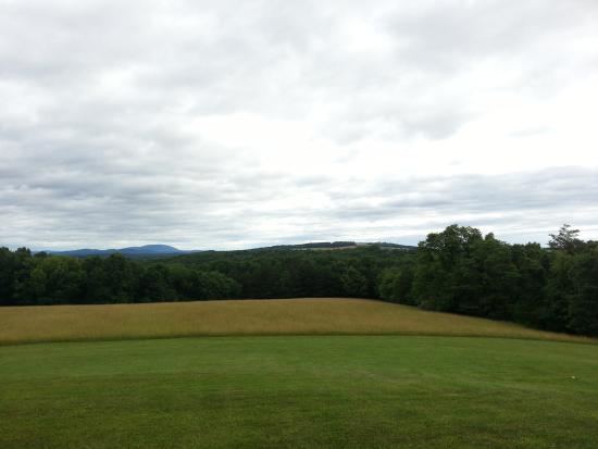 High View, Virginia Occidental: View from the proch