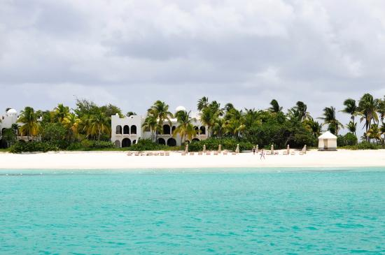 Simpson Bay, St Marteen/St. Martin : The beach we stopped at in Anguilla.