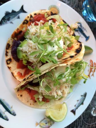 Crab Shack Gorey: Crab tacos