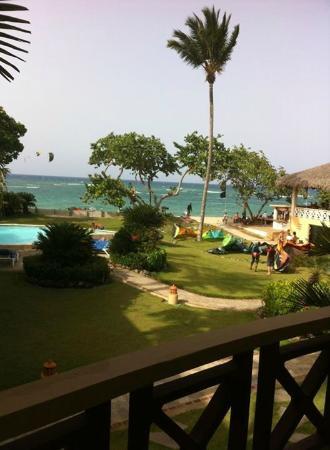 Agualina Kite Resort: Vista da praia.