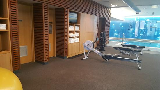 Gym Area Picture Of The Grand By Skycity Auckland Central Tripadvisor