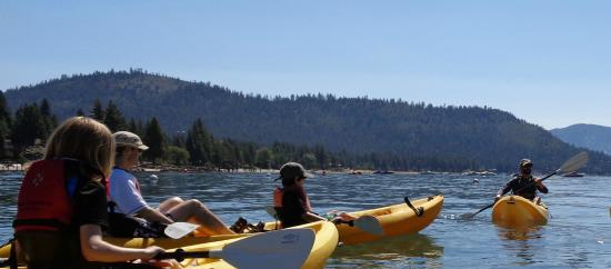 Tahoe Adventure Company: Kerry gives a great Discover Kayaking tour for all ages!