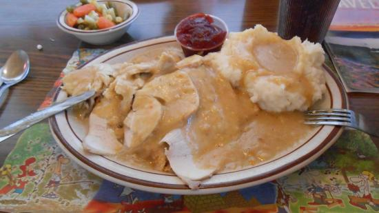 South Glens Falls, นิวยอร์ก: Mighty good Open Faced Hot Turkey Sandwich