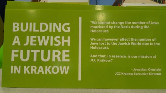 JCC Krakow: un buen pensamiento