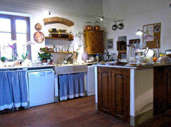 Agriturismo Marciano: kitchen