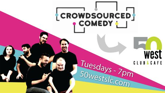 Crowdsourced Comedy