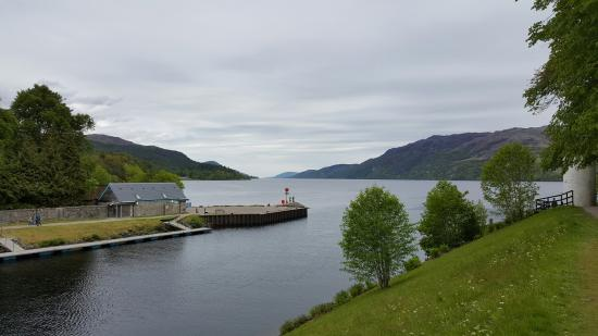 Caledonian House : Loch ness from Fort Augustus
