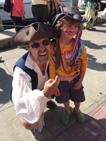 Oak Bluffs, MA: Pirate adventures!