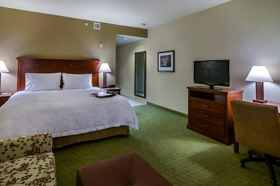 Hampton Inn & Suites Salem: King Standard Room