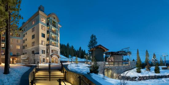 Constellation Residences at Northstar: Exterior Night Modified Md
