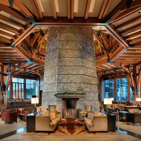Constellation Residences at Northstar: Ritz Carlton Living Room Fireplace