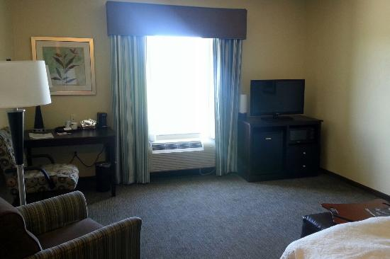 Hampton Inn Belton / Kansas City area: Our room