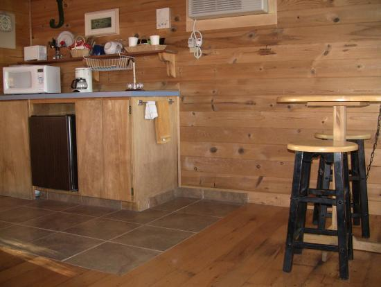 Winthrop Mountain View Chalets: Satisfy Your Hunger