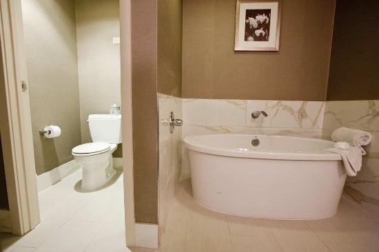 doubletree by hilton hotel midland plaza bridal suite soaking tub
