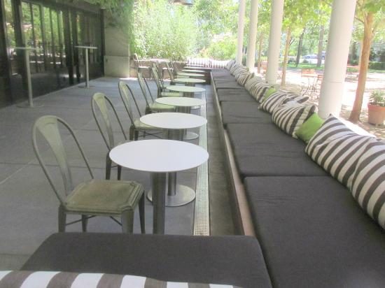 Outdoor Patio Area, St. Supery Winery, Rutherford, Ca