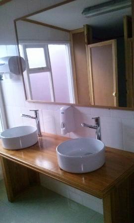 Hostel Motas de Coiron: Baño