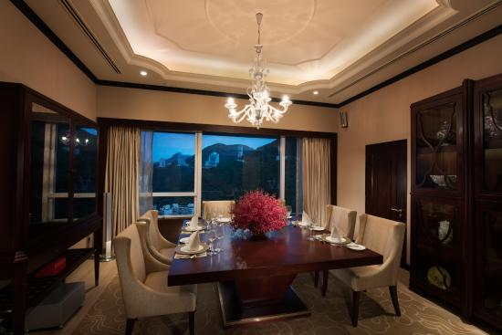 Presidential suite dining room picture of conrad hong for Dining room hong kong