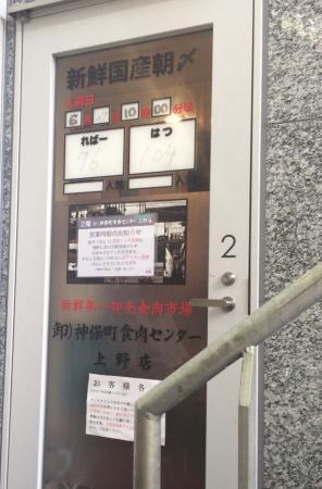 Jinbocho Meat Center Ueno