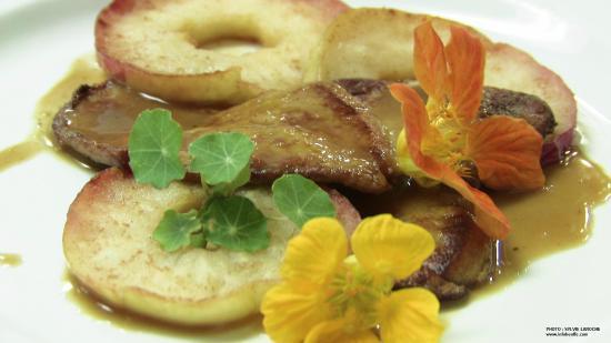 Restaurant Chez Noeser: foie gras
